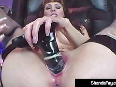 Hot Horny Housewife Shanda Fay Dildo Fucks In Latex Lingerie's Thumb