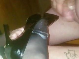 Fucking my wifes heels