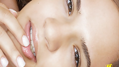 4K naked Closeup with amazing tiny Teen daughter