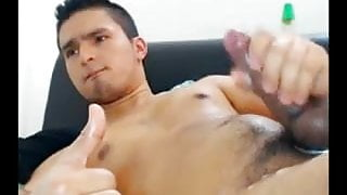 Small dick, huge load