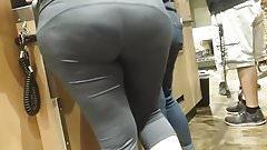 Candid big ass latina at the liquor store.