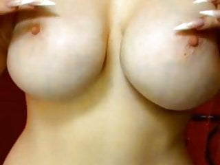 Perfect Juicy Bosoms Love Her Big Tits And Red Lips