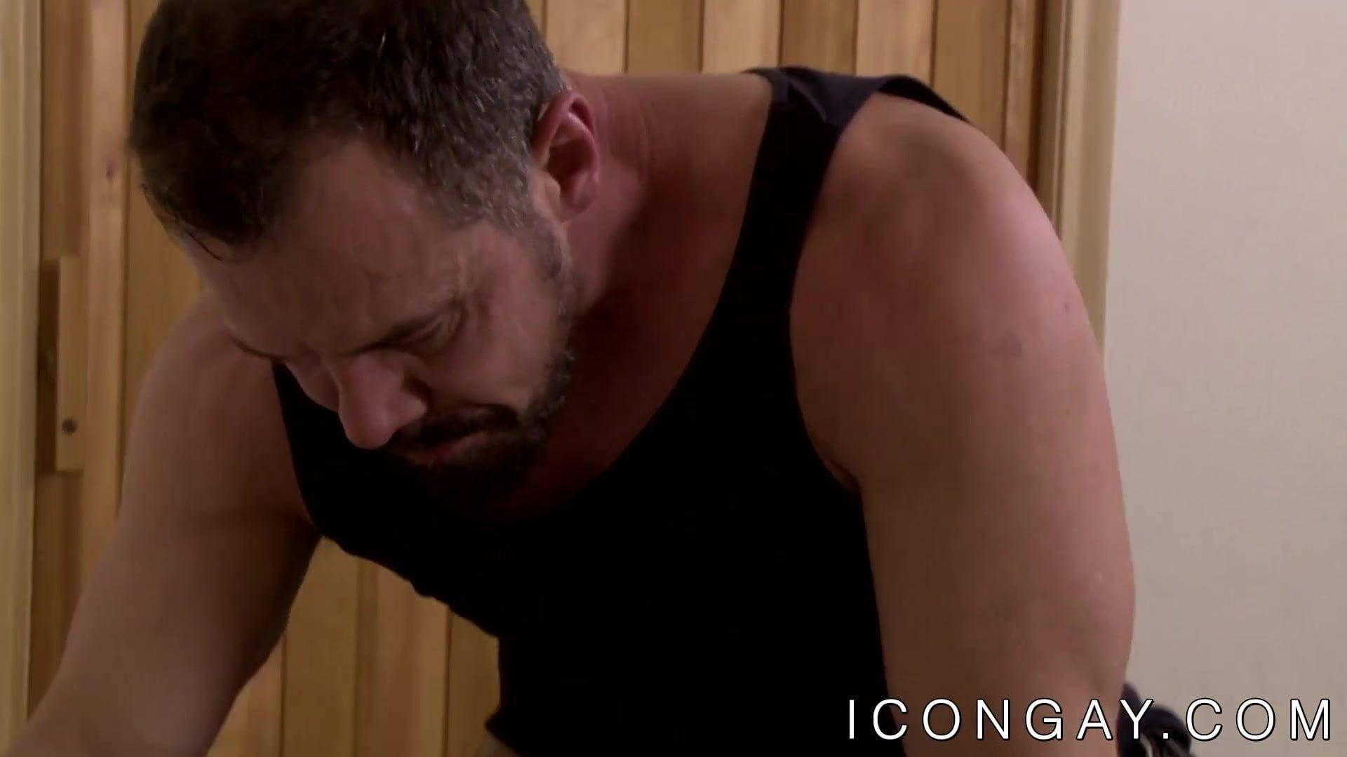 Mature homosexual Max Sargent passionately fucks hunk Tony Salerno