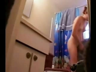 Watch nude great body of my sister in bath room. Hidden cam