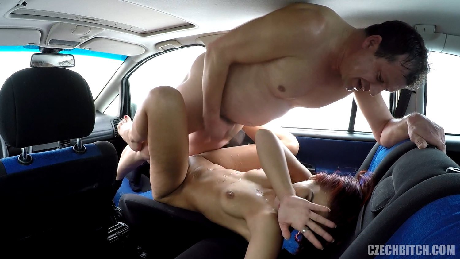 from Armani bitches naked in the car