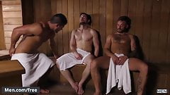 Men.com - Brad Banks and Griffin Barrows - Heating Things Up