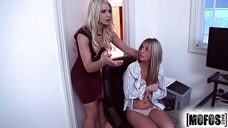 Mofos.com - Anikka Madelyn - Busted Babysitters