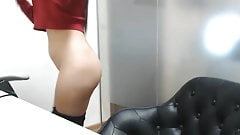 Striptease at the Office