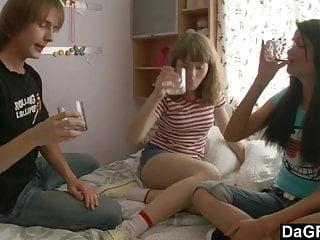 Xxx couples seduce teens - Lesbian teen couple seduce a guy