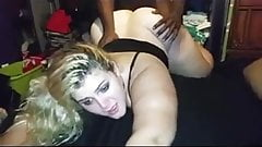 Tumblr Find. Gorgeous Blonde PAWG Wife takes BBC