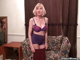 American moms in pantyhose part 6
