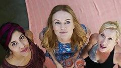 Stephanie Beatriz, Heather Graham, Angela Kinsey -Half Magic