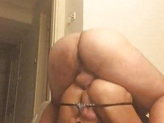 Crossdresser Melda Fucked by Muscle Stud Doggy Hardcore