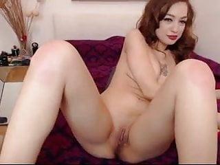 Sexy babe masturbates pussy and ass
