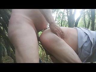 Flip Fuck in the Woods