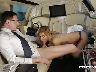 Ria Sunn Gets Destroyed in the Back of a Limo