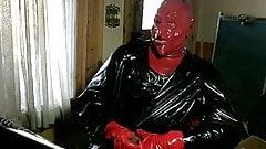 red devil wanking
