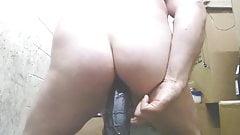 Plump Butt Boy Slams Anal Hole Sweetly