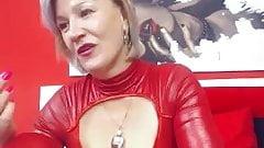 Granny big tits masturbation webcam