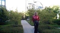 Latex high heels fetish ladyboy slut