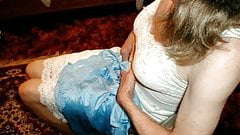 Blue Nightie Wank