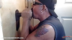 Young Black Executive At The Gloryhole