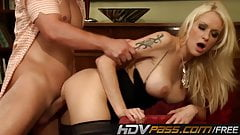 Stacy Silver Fucked Deep Until Cumshot