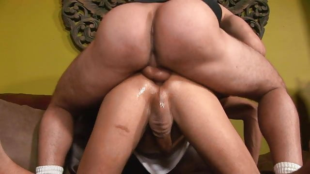 Preview 1 of Young black guy gets his tight ass penetrated by a long cock
