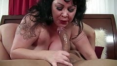 BBW screws a younger guy and gets orgasms.