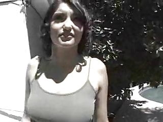 Shy Brunette's First Audition...F70