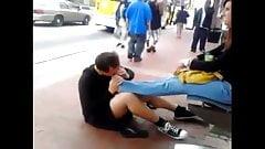 Public Foot Femdom