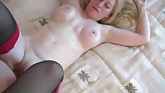 50 year old blond does anal