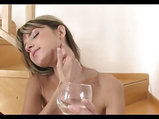 Gina Pees and Masturbates..