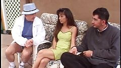 Asian chick hot for action