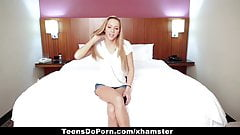 TeensDoPorn - Tiny Arizona Teen Making Porn