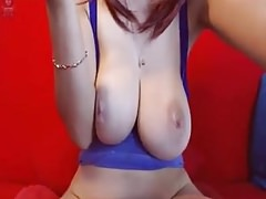 Ugly saggy tits masturbation webcam