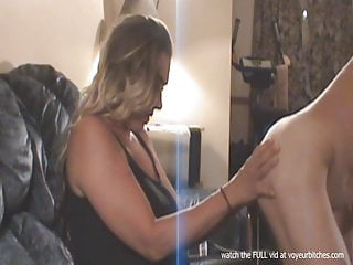 milf likes playing with naked guy
