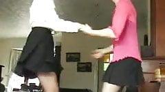 Sara Jiving with Jade