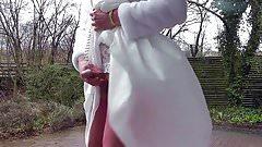 Wanking Bride