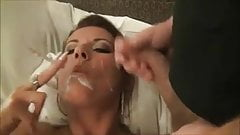 Smoking Brunette tease and BJ