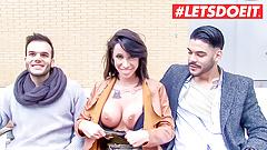 LETSDOEIT - Big Tits Pornstar Picks Up Amateur From Street