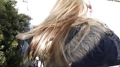 Blonde Fucking in the Public