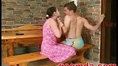 Milf fucked by young guy