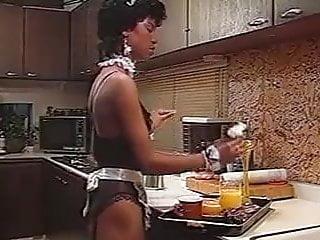 Vintage femme noire enculee