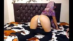 hijab legging thong twerk