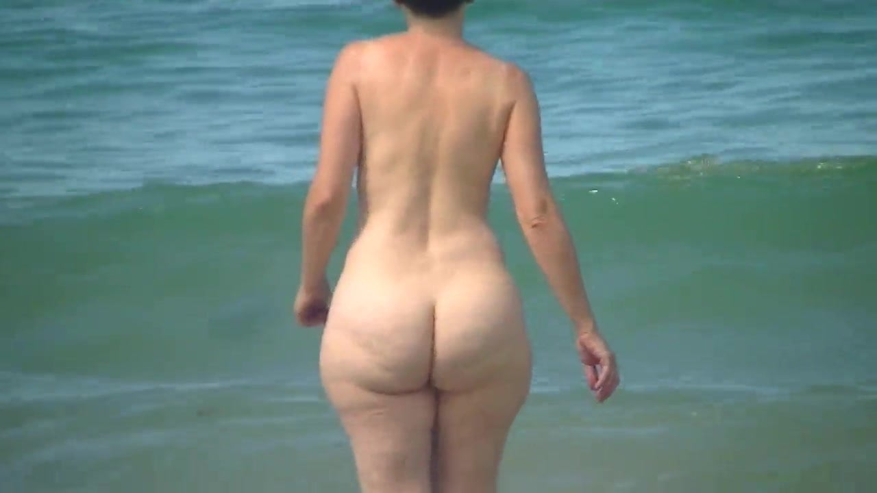 Opinion already naked beach plump ass