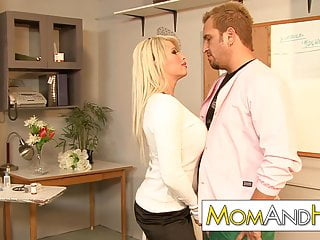 MILF Librarian Brooke Haven fucks the doctor