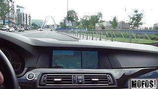 Cutie Gets Roadside Anal video starring Foxy Di - Mofos.com