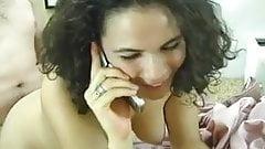 Housewife on webcam naughty