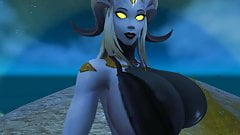 Gods Draenei will tease you